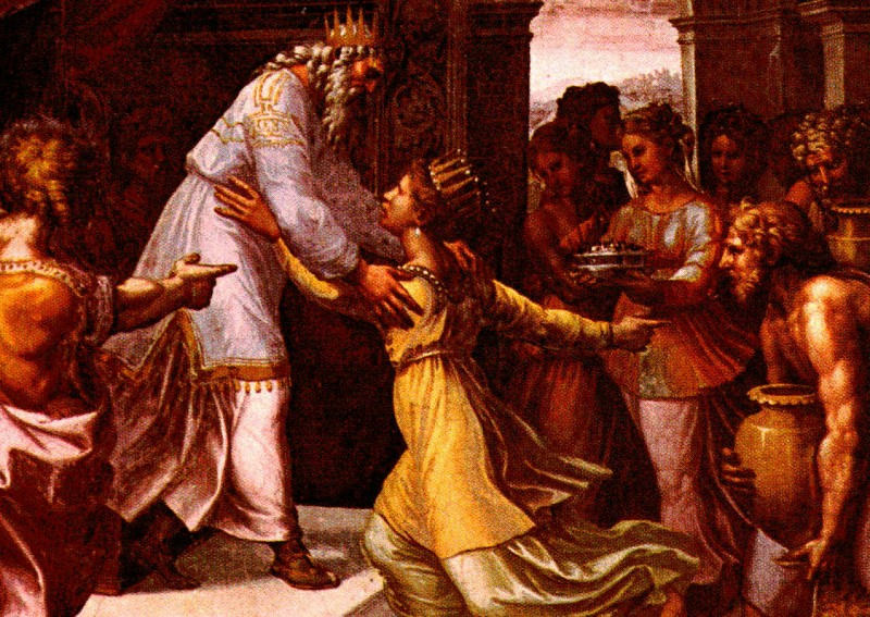Solomon si regina din Sheba