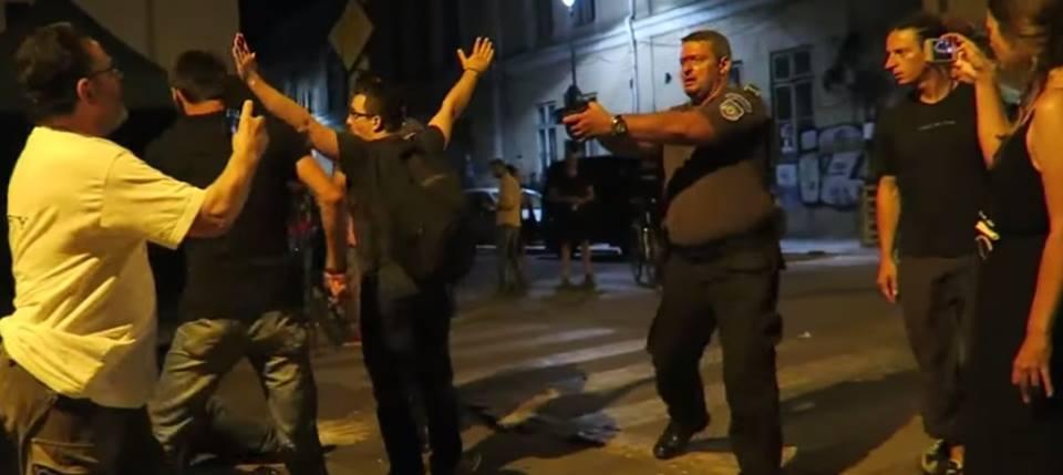 incident-armat-politist