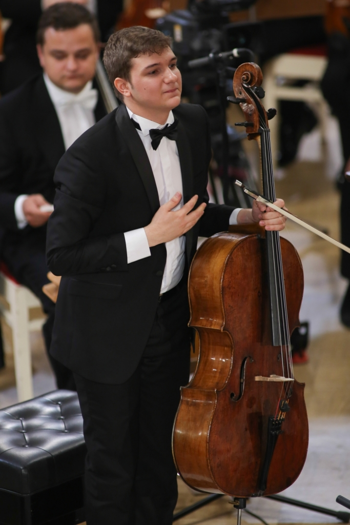 Cello winner 2015 at Ceaikovski Competition