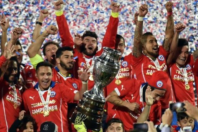 Chile - winners Copa America 2015