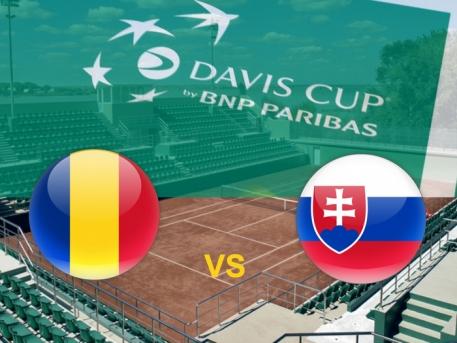 Cupa Davis Romania- Slovacia 2-3  Criteriul National