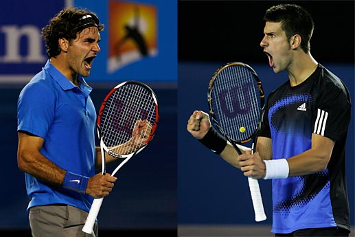 Federer vs Djokovici