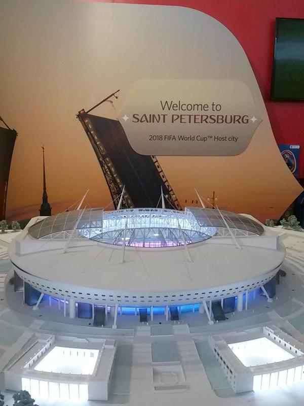 Sankt Petersburg 2018 stadium