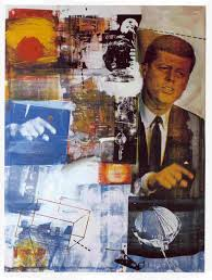 Street and Dialogue  Rauschenberg