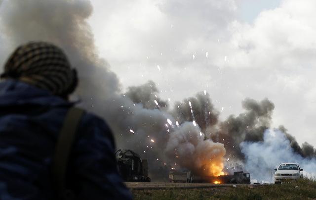 bombardament
