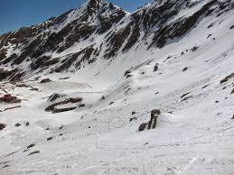 risc crescut de avalanse in muntii fagaras