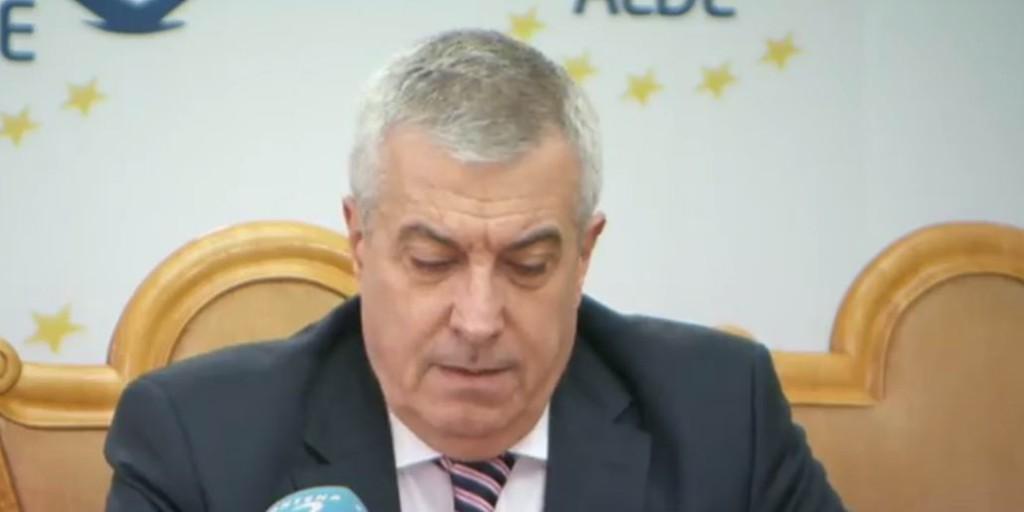 Presedintele senatului Calin Popescu Tariceanu
