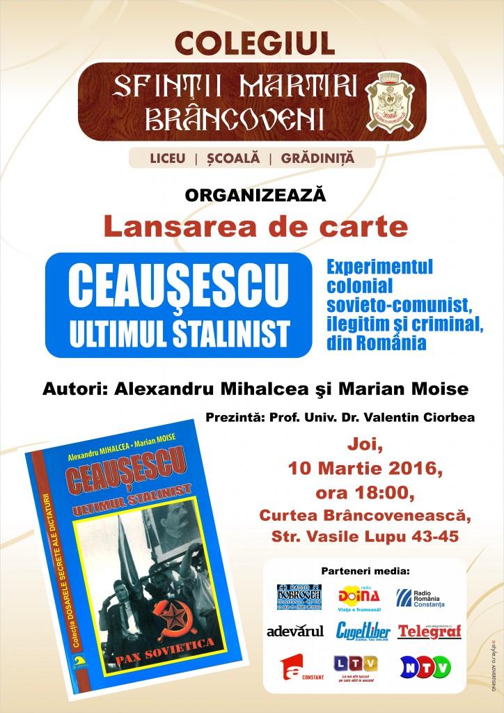 10.03.2016 Ceausescu ultimul stalinist