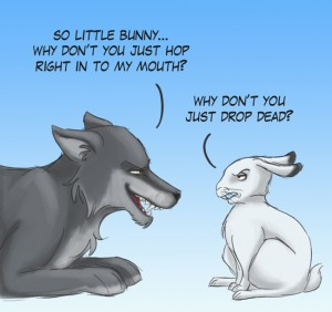 wolf_and_rabbit_by_uppun