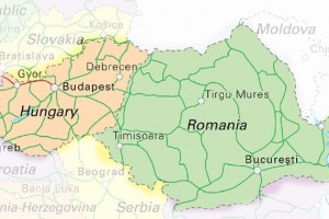 harta-romania-ungaria