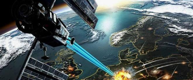 sistem laser din satelit
