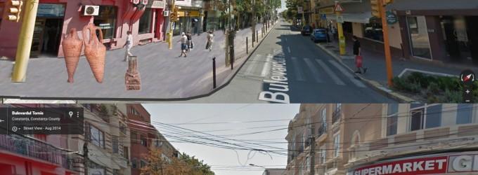 Blvd Tomis pentru oameni, nu pentru masini!