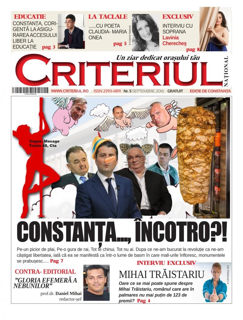 Criteriul National prima pagina