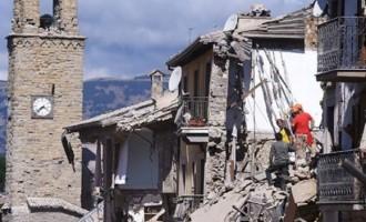 Trei cutremure puternice au zguduit centrul Italiei
