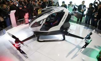 Drona Ehang184 și interesul EAU pentru a le promova