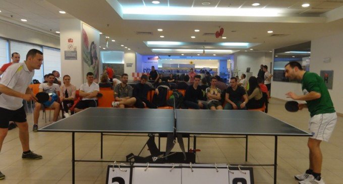 Cupa Sport Pentru Sanatate la tenis de masa, editia din martie