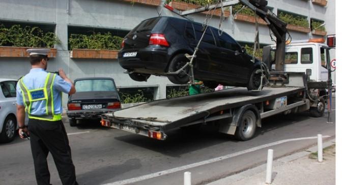Constanta: De la 1 aprilie puteti parca linistiti, nu mai are cine sa va ridice masinile