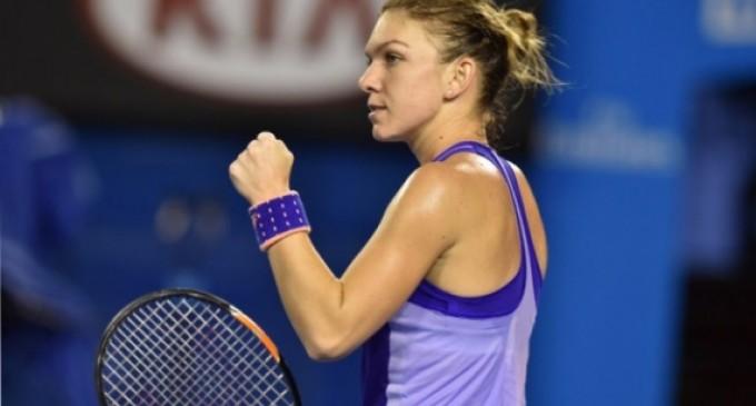 Simona Halep s-a calificat in sferturile Turneului Indian Wells