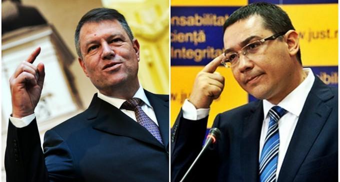 Ultima ora: Iohannis ii solicita premierului Ponta să-l revoce pe Valcov