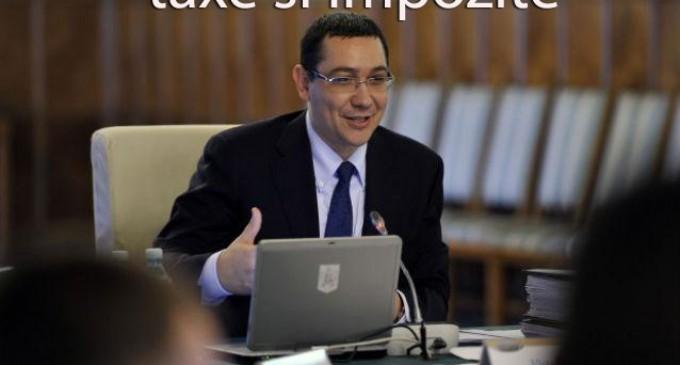 Ponta este noul Ministru de Finante. ….. Pana miercuri