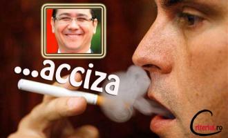 Guvernul Ponta va acciza tigarile,……si tigarile electronice