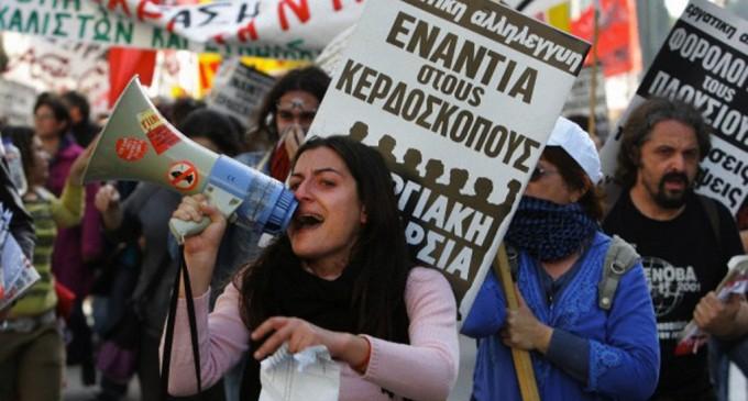 Masuri drastice in Grecia: se pregateste nationalizarea bancilor si renuntarea la moneda euro