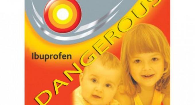 Atentie! Nurofenul – siropul care reduce febra copiilor, poate provoca infarct si accidente vasculare