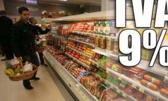 Ultima ora: TVA-ul va scadea la 9% de la 1 iunie la toate alimentele
