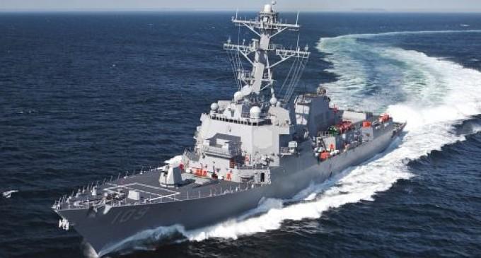 USS Ross nu a intrat în apele teritoriale ruseşti REVISTA PRESEI