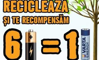 """HORNBACH vrea să colecteze peste 6 tone de baterii uzate în campania """"Fiecare baterie contează"""""""