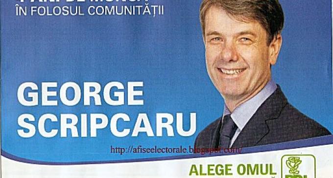 George Scripcaru ar putea trece la UNPR REVISTA PRESEI