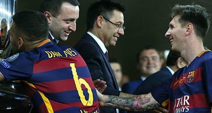 Messi l-a ignorat pe Ponta REVISTA PRESEI