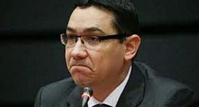 Ponta, cap de listă neagră în noul MCV REVISTA PRESEI