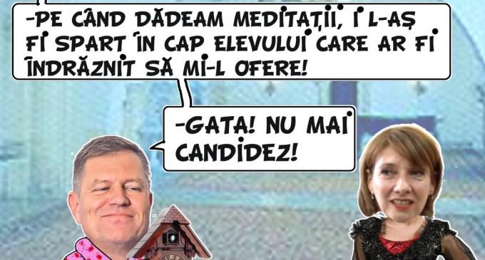 Caricatura Zilei: Iohannis si….. sotia