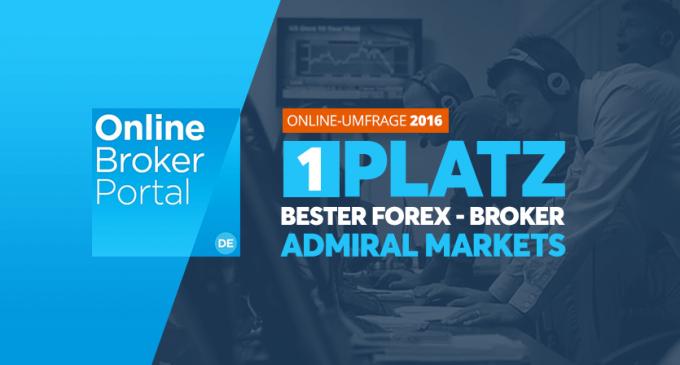 """Admiral Markets a câștigat doi ani la rând premiul """"Cel mai bun Broker din Germania"""" !"""