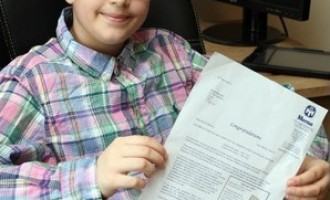 ENTUZIASMANT! Un copil român are IQ-ul mai mare decât Stephen Hawking sau Albert Einstein!
