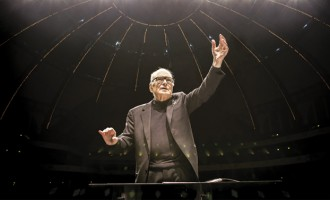 ONORANT! Venerabilul compozitor Ennio Morricone a primit o stea pe Walk of Fame din Hollywood !