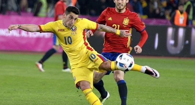 ENTUZIASMANT!Tricolorii au jucat entuziasmant în fața campioanei europene-Spania!