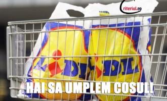 Supermarketul LIDL i-a luat pe romani drept prosti