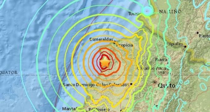ULTIMA ORĂ!Cutremur de proporții în Ecuador!