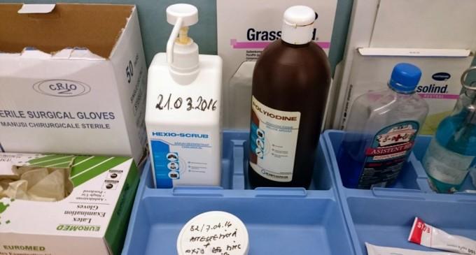 Scandal de amploare a dezinfectanților diluați de la Hexi Pharma