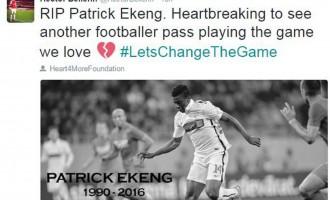 Cazul tragic al fotbalistului Patrick Ekeng reflectat în presa internațională