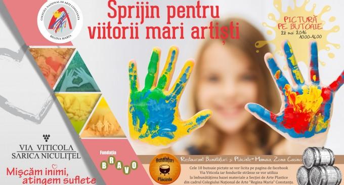 Via Viticola Sarica Niculitel – Sprijin pentru viitorii mari artisti