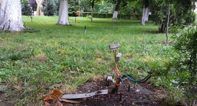 Alo, Primaria! Capcane mortale in Parcul Tomis 2 din Constanta – FOTO