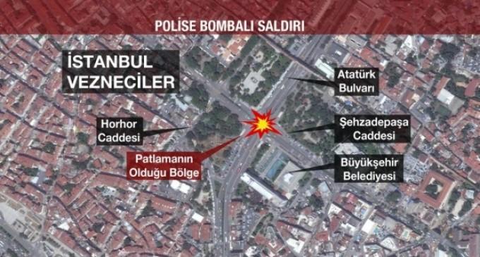 Trei persoane au fost reținuțe în cazul atentatului de la Istanbul