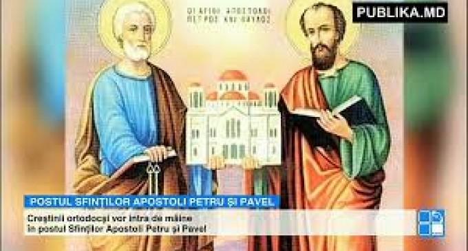 Postul Sfinților Apostoli Petru și Pavel