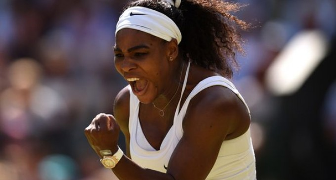 Serena Williams câștigătoare la Wimbledon