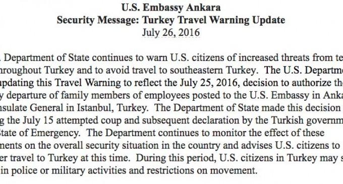 Relaţiile SUA-Turcia sunt destul de încordate