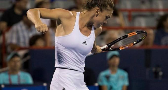 Simona Halep  joacă a doua finală consecutivă a turneului din Canada