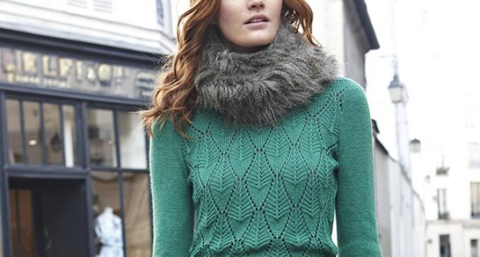 Vremea rece solicită purtarea unui pulover de damă